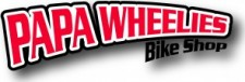 Papa Wheelies New Logo Print